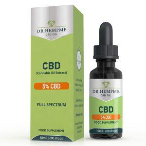 A review of Dr. Hemp Me's 5% CBD oil